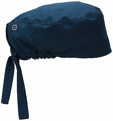 Elastic Band MenS Wonderwork Unisex Scrub Cap Hat Navy Surgical One Size