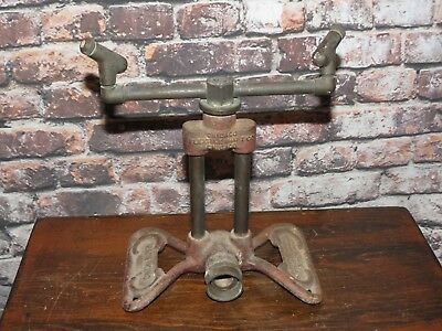 Vtg 1920's Rain King Model D Cast Iron Lawn Sprinkler Chicago Flexible Shaft Co.