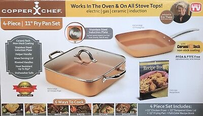 New Copper Chef Cook Book Eric Theiss Asotv Hardcover 24 99