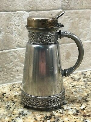 Antique Silver Plate Syrup Pitcher ;)