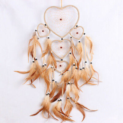 Dream Handmade Catcher feathers long car wall hanging decoration bead ornament