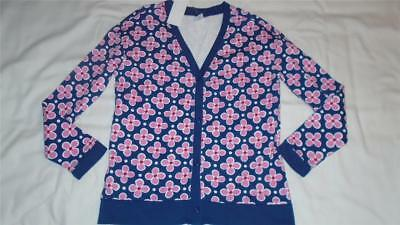 NEW Girls Size 7-8 Gymboree Outlet Cardigan Sweatshirt Floral MSRP $32 NWT