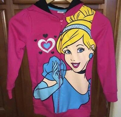 Disney Kids Cinderella Hoodie Brand New FREE SHIP
