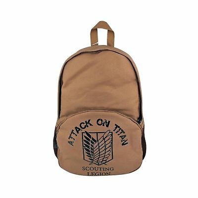 Createreedo Anime bags Canvas School Backpack Attack on Titan