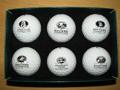 Exclusives St.Andrews Golfballset - Heritage Collection!