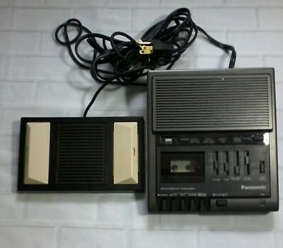 Panasonic RR-930 Microcassette Transcriber with RP-2692 Foot Pedal