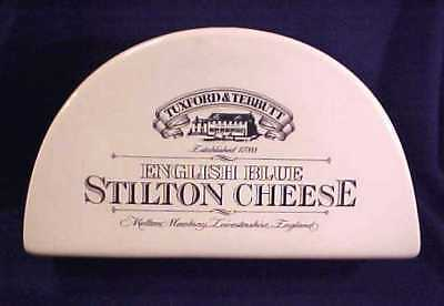 Antique English Transfer Wear Tuxford & Tebbutt Stilton Cheese Pottery Box