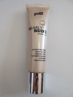 P2 Nearly Nude Make up 30 ml - NEU