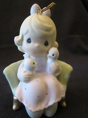 Precious Moments Enesco WE'RE TWO OF A KIND 455997 Christmas Ornament 1998