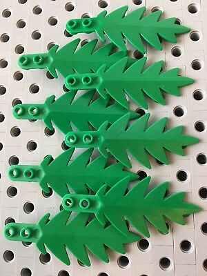 Lego Minifig ~ Mixed Lot Of Plant//Tree Leaves Leaf Limb Branch Green