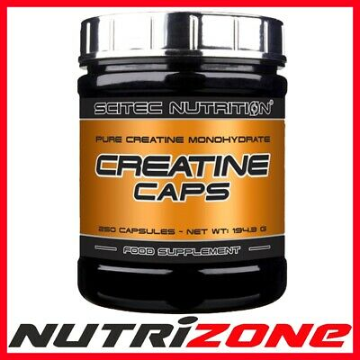 SCITEC NUTRITION CREATINE MONOHYDRATE Muscle Strength Power Capsules or Powder
