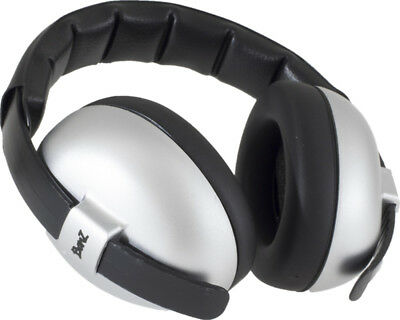 New Baby Banz Bubs Earmuffs - Silver 2 Months -2 Years Free Express Shipping