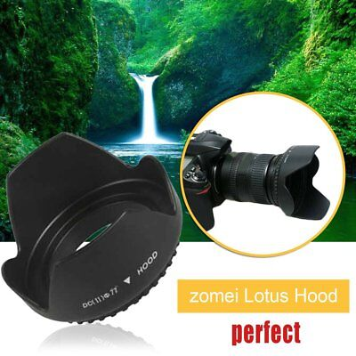 Zomei Professional Lotus Shade Lens Hood Mount Suitable For DSLR DV Camera MO