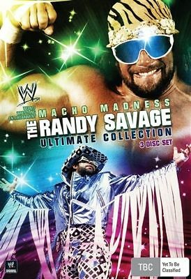 Macho Madness - The Randy Savage Ultimate Collection (DVD, 2009, 3-Disc Set)