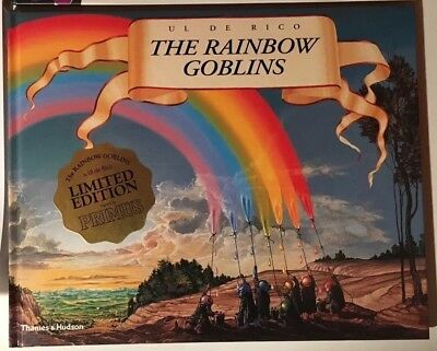 """PRIMUS """"The Rainbow Goblins"""" BOOK Autographed by THE BAND PRIMUS"""