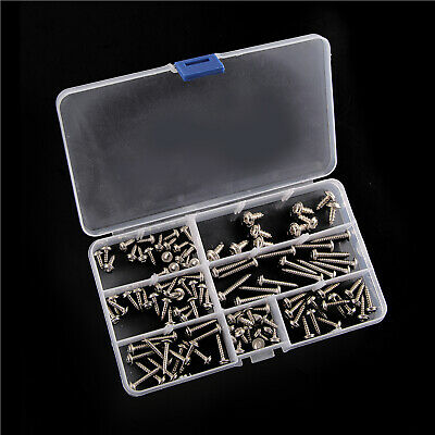 110 ASSORTED PIECE, No. 6 8 10 STAINLESS FLANGE POZI PAN SELF TAPPING SCREWS KIT