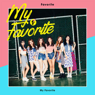 FAVORITE [MY FAVORITE] 1st Mini Album CD+52p Photo Book+2p Card K-POP SEALED