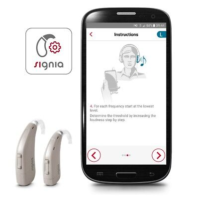 New Siemens Signia Run P/sp Bte Hearing Aid - Severe To Profound Loss  Warranty