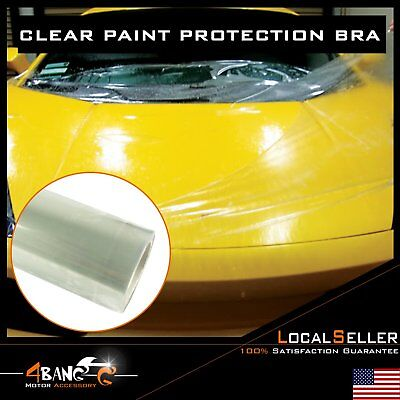 "72"" x 60"" Clear Car Body Paint Protection Bra Film Vinyl Wrap Scratches Shield"