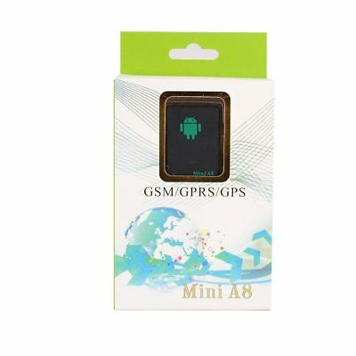 Global Locator Mini Real Time Car Kids A8 GSM/GPRS/GPS Tracker Tracking Device.