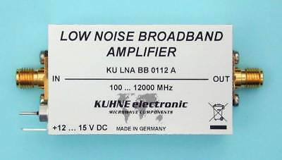 KU LNA BB 0112 A, Low Noise Broadband Amplifier 100-12000 MHz Vorverstärker