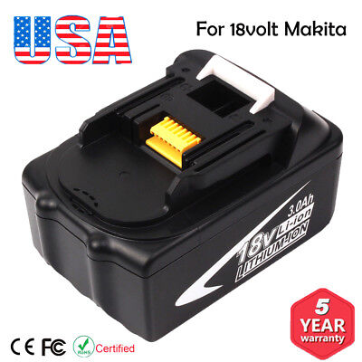 For Makita BL1830 18V LXT400 BL1850 BL1830 BL1815 3.0Ah Lithium-Ion Battery NEW!