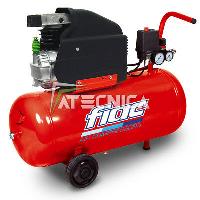 Compressor air 50 L 230V monophase coaxial FIAC COSMOS 255 2 Hp 1,5 Kw