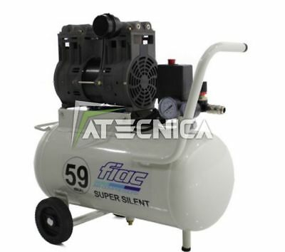 Compressor air silenced 24 l FIAC SUPER SILENT 59 db 220V 1.5 kW light