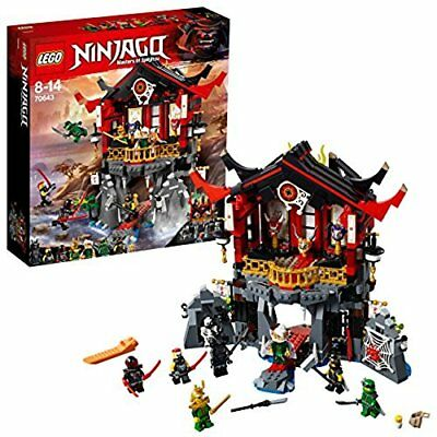 NEW Lego Ninja Go 70643 Temple of Resurrection Building Toy from Japan