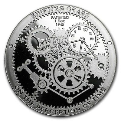 Shifting Gears 1 oz Silver – 1st of T.I.M.E. Series - Proof Like - Encapsulated