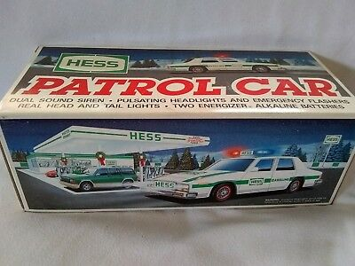 1993, Hess Patrol Car, New In Box, Collectible