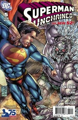 Superman Unchained #5 75Th Anniversary Doomsday Cover (2013) Vf/Nm Dc