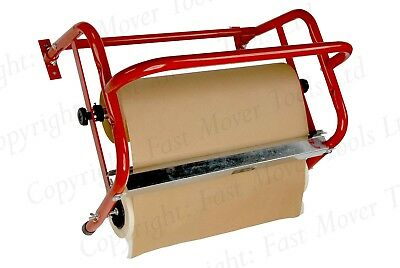 "Wall Mountable Masking Tape Reel + Paper Dispenser Machine Holder 18"" 450Mm"