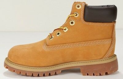 "Timberland Youth's 6"" Premium Boots 12709 Wheat"