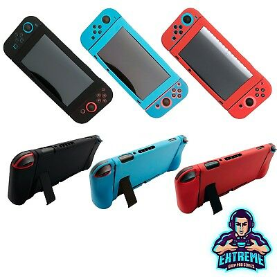 Nintendo Switch Anti-slip Silicon Cover Case With Detachable Joycon Gel Covers