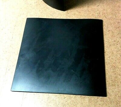 "Neoprene Rubber Solid Sheet 1/8"" Thick x 8"" x 8"" Sq Pad  60 Duro Std Flex"