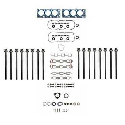 Full Head Gasket and Head Bolt Set Fits Chrysler and Dodge