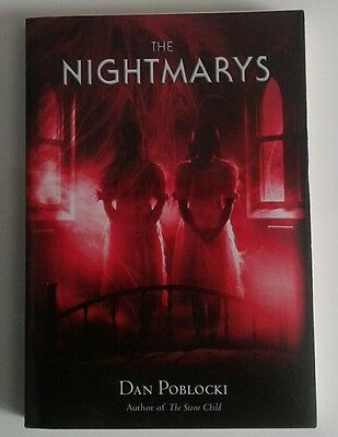 The Nightmarys by Dan Poblocki Paperback Book (English) NEW Free Shipping