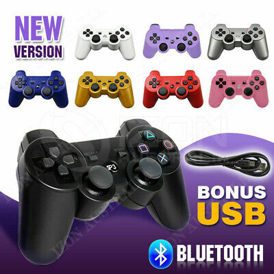 Wireless Dualshock Joystick Bluetooth Gamepad Controller for PS3 PlayStation3