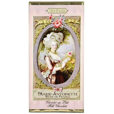 French Milk Chocolate Tablet 100g by Marie Bouvero of Paris - Marie Antoinette