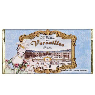 French Milk Chocolate Tablet 100g by Marie Bouvero of Paris - Palace of Versa...