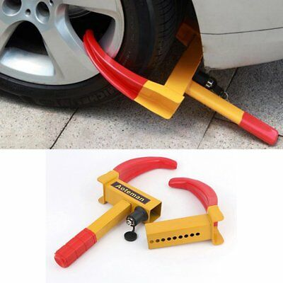 Wheel Lock Car Vehicle Clamp Boot Tire Claw Trailer Truck Anti-Theft Towing M2