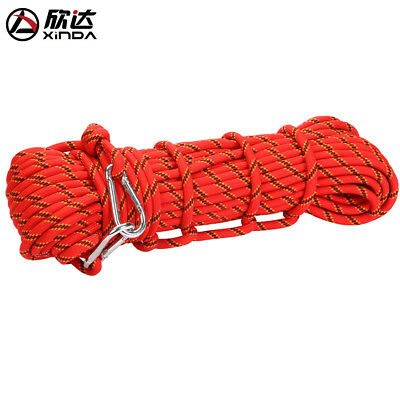 Safety Climbing Rappelling Auxiliary Escape Rescue Rope Outdoor Gear Hot!