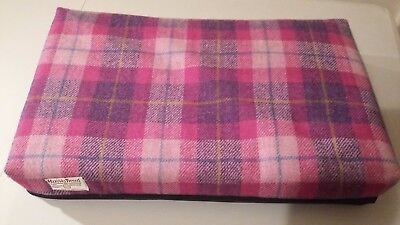 Harris Tweed pet bed for small dogs or cats FREE POSTAGE
