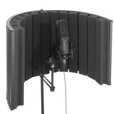 Pyle Microphone Isolation Shield - Vocal Booth & Studio Recording Acoustic Panel