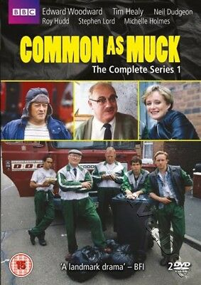Common As Muck - Complete Series 1 NEW PAL Cult 2-DVD Set Edward Woodward