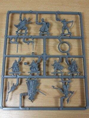 New On Sprue Plastic Lotr Mines Of Moria Fellowship Of The Ring Unpainted (D-06)