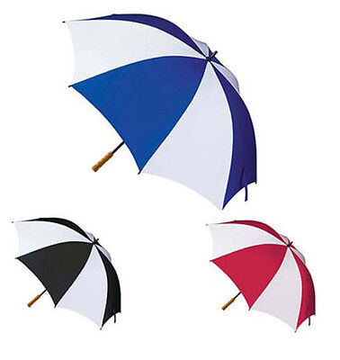 Unisex Strong Large Golf Umbrella Windproof Canopy Rain Sun Wind Shield Brolly