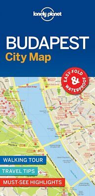 Lonely Planet Budapest City Map (Lonely Planet City Map), Lonely Planet, New Boo