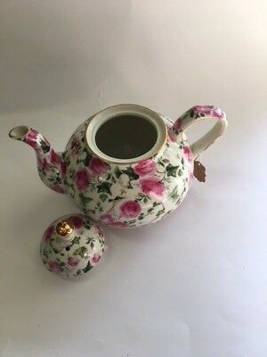 FORMALITIES TEAPOT by Baum Bros. Lilies Chintz Collection China ...
